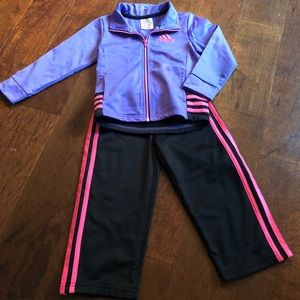 Toddler girl Adidas outfit